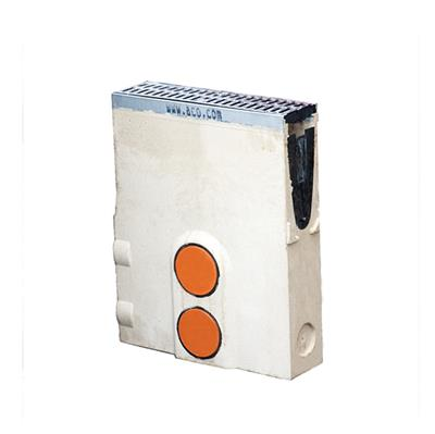 ACO POLYMER CONCRETE SUMP UNIT TO SUIT C250 CHANNEL REF 23410 M100D