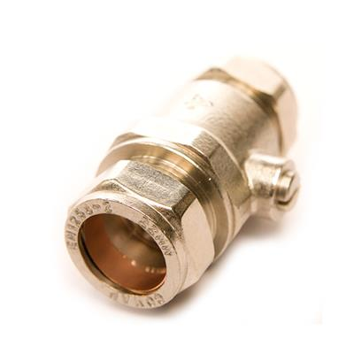 22MM FULL BORE CHROME ISOLATING VALVE CXC M30220000P