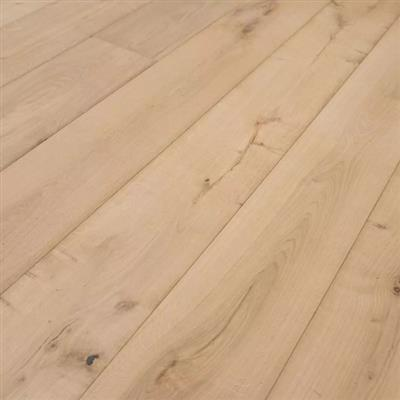 ENGINEERED OAK FLOORING 15MM X 190MM UNFINISHED 2.527M2 PER PACK