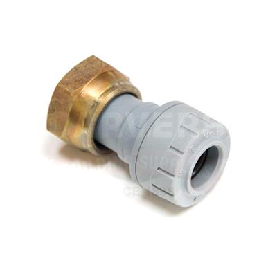 POLYPIPE POLYPLUMB 15MMX3/4IN STRAIGHT TAP CONNECTOR PB71534