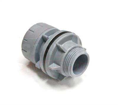 POLYPIPE POLYPLUMB 22MMX3/4IN STRAIGHT TAP CONNECTOR PB722