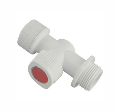 POLYPIPE POLYPLUMB 15MM SHUT OFF VALVE PB5915