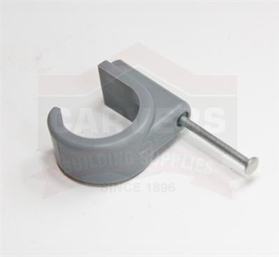 POLYPIPE POLYPLUMB 22MM NAIL IN PIPE CLIPS PB2222 SOLD PER EACH