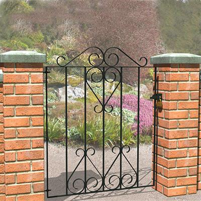 GATE 930X770MM LUDLOW SMALL SCROLL LUDGTSN GRANGE