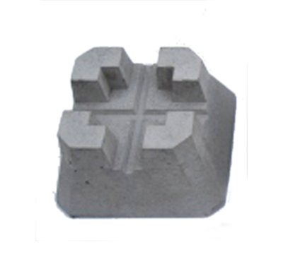CONCRETE DECKING BLOCK MAIN BLOCK 290X290X160MM WREKIN