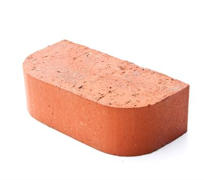 SPECIAL BRICK DOUBLE BULLNOSE RED 65MM SOLID BN2.2