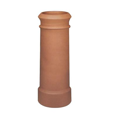 REDBANK CANNON HEAD CHIMNEY POT RED 4 600MM HIGH
