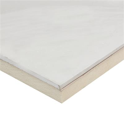 INSULATION LAMINATE BOARD PIR 60+12.5MM X 2438 X 1200MM BTDLB60 8 SOLD PER SHEET