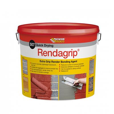 RENDER BONDING AGENT RENDAGRIP EXTRA GRIP 10L EVERBUILD RENDGP10