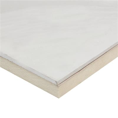 INSULATION LAMINATE BOARD PIR 38+12.5MM X 2438 X 1200MM BTDLB38 8 SOLD PER SHEET