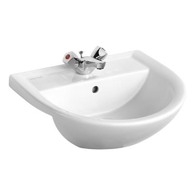 ARMITAGE SANDRINGHAM 21 SEMI COUNTER TOP BASIN 1TH WHITE REF E895801