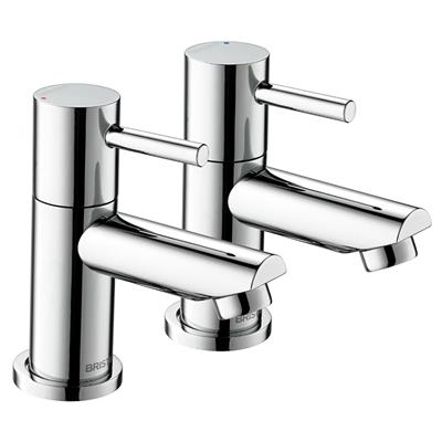 BRISTAN BLITZ BASIN TAPS CHROME SOLD PER PAIR REF BTZ 1/2 C
