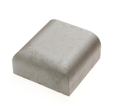 SPECIAL BRICK DOUBLE BULLNOSE STOP END BLUE BN15.4 (STOCKED IN SHOP)