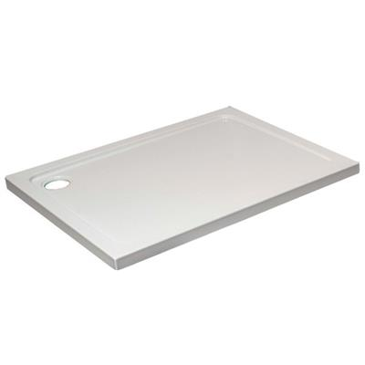 SHOWER TRAY 1200X800X45MM RECTANGLE C/W 90MM FAST FLOW  WASTE KRR1208L LOW PROFILE
