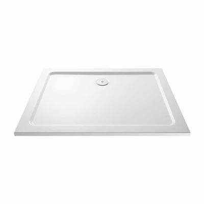 SHOWER TRAY 1200X900X45MM RECTANGLE C/W 90MM FAST FLOW WASTE KRR1209L LOW PROFILE