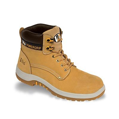 NUBUCK SAFETY BOOTS PUMA HONEY VR602.01 SIZE 11
