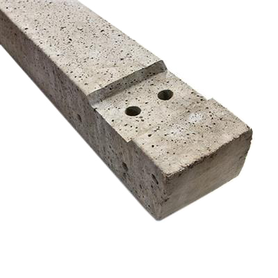 CONCRETE POST RECESSED FOR ARRIS RAIL/CLOSEBOARD 1750X125 X115 R17512IL