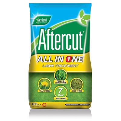 WEEDKILLER AND LAWN FEED AFTERCUT ALL IN ONE BAG 400M2 20400461