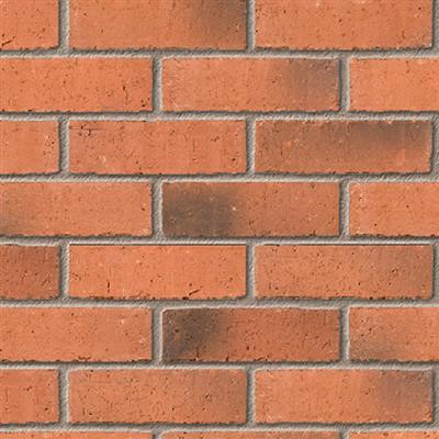 BRICK IBSTOCK 65MM PRIORY WEATHERED RED 65MM BEST FL 400 PER PK