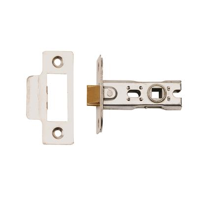 TUBULAR MORTICE LATCH PSS 63MM (BOLT THROUGH) DH002166 DALE HARDWARE