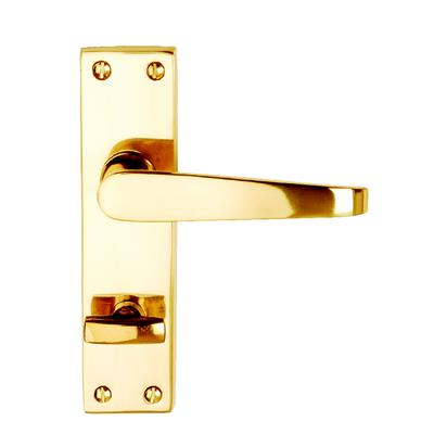 DOOR HANDLES BATHROOM VICTORIAN BRASS DH005209 DALE HARDWARE