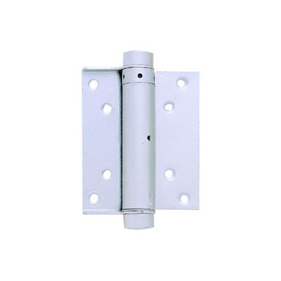 "SPRING HINGE DOUBLE ACTION SILVER 4"" (100MM) DH005462 DALE HARDWARE"