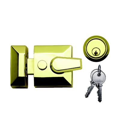 NIGHT LATCH CYLINDER BRASS STD REF DH007064
