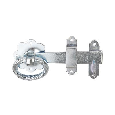 RING GATE LATCH 152MM BZP DH006186 DALE HARDWARE