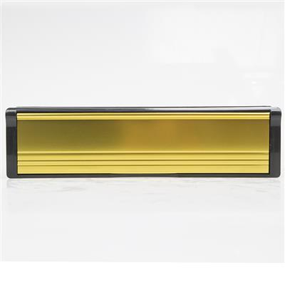 LETTER PLATE 10IN 40/40 PLATED GOLD DH006740 DALE HARDWARE
