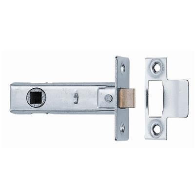 TUBULAR MORTICE LATCH 76MM (X5) PP NICKEL PLATED REF DH097171 DALE HARDWARE