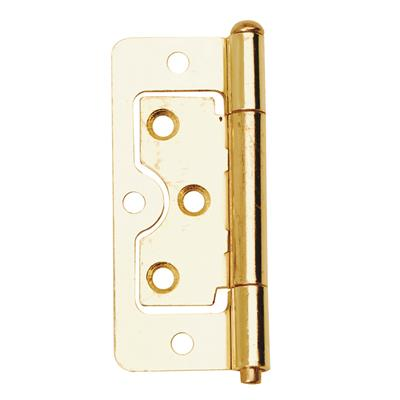 FLUSH HINGE 63MM (X2) ELECTRO BRASS DALEPAX REF DX40507 DALE HARDWARE