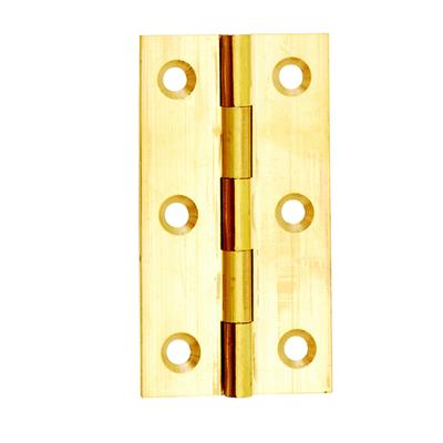 BUTT HINGE 40MM (X2) BRASS DALEPAX REF DX40513 DALE HARDWARE