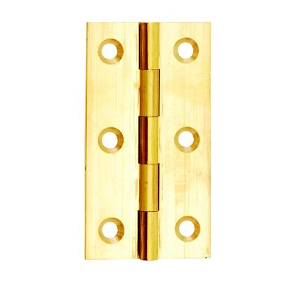 BUTT HINGE 50MM (X2) BRASS DALEPAX REF DX40514 DALE HARDWARE