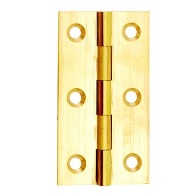 63MM BUTT HINGE (X2) BRASS DALEPAX REF DX40515 DALE HARDWARE