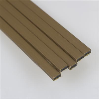 INTUMESCENT STRIP DOOR PACK 10X4 FIRE ONLY BROWN 5X1.5M FIREBRAND REF FB002