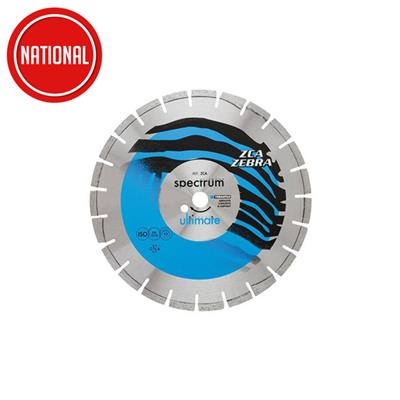 DIAMOND BLADE 300MM ULTIMATE ZEBRA ABRASIVE REF ZCA300/20