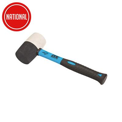 RUBBER MALLET 16OZ TRADE FIBREGLASS HANDLE COMBINATION OX-T081916 OX GROUP