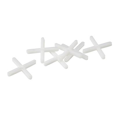 TRADE CROSS SHAPED TILE SPACERS- 4MM (250PCS BAG) REF OX-T160904 OX GROUP