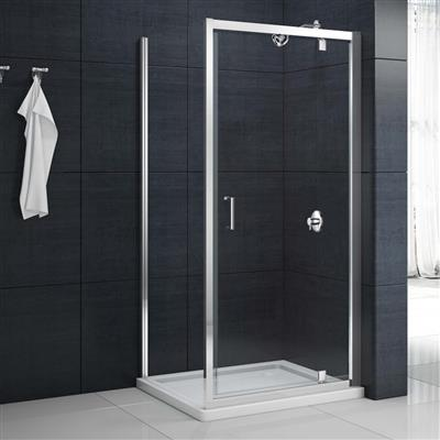MERLYN 800MM SHOWER SIDE PANEL MBSP800