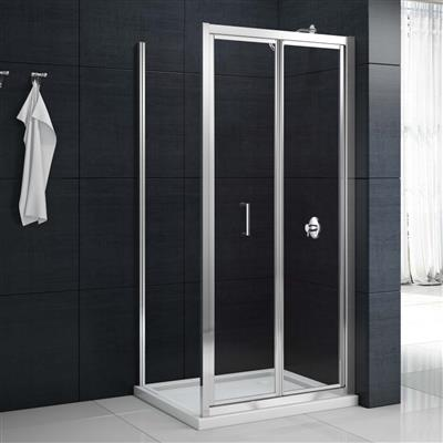 MERLYN 760MM BIFOLD SHOWER  DOOR MBB760