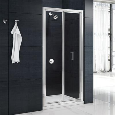 MERLYN 800MM BIFOLD SHOWER DOOR MBB800