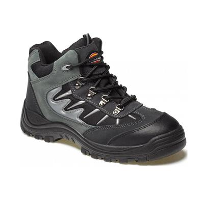DICKIES STORM SAFETY TRAINERS GREY SIZE 6 FA23385A