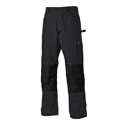 TROUSERS REGULAR BLACK SIZE 38 REF WD4930 DICKIES DISCONTINUED