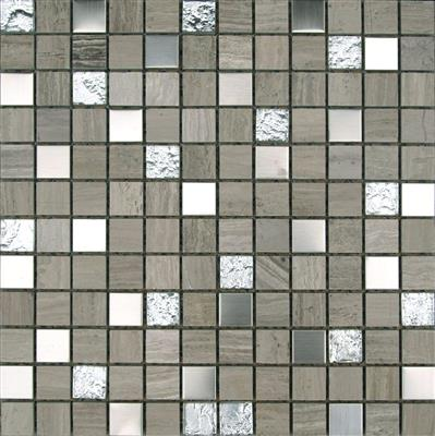 30x30 Rockwood Mix Mosaic 2.3x 2.3