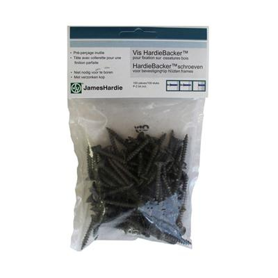 Hardie Wood Screws Pk100