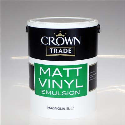 CROWN TRADE PAINT VINYL MATT MAGNOLIA 5L