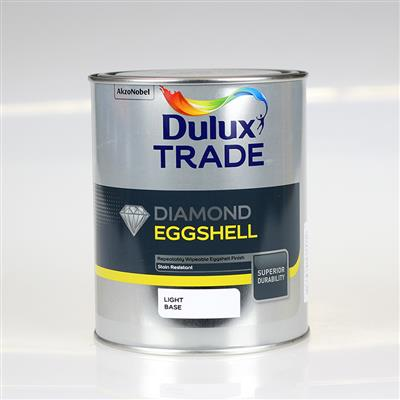 DULUX PAINT TRADE DIAMOND EGGS HELL LIGHT BASE 1L