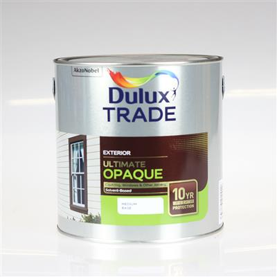DULUX PAINT TRADE ULTIMATE OPA QUE MED BASE 2.5L COLOUR