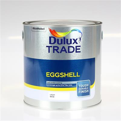 DULUX PAINT TRADE EGGSHELL EXTRA DEEP BASE 5L COLOUR