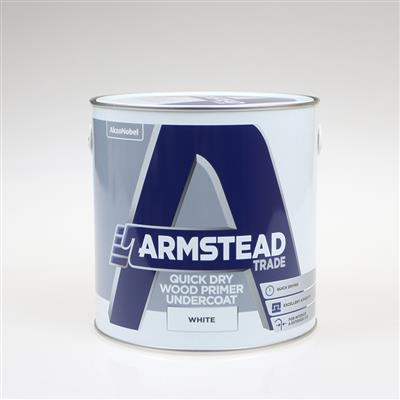 ARMSTEAD TRADE PAINT QUICK DRY WOOD PRIMER UNDERCOAT 2.5L